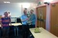 Mark Birkin (Yorkshire) with the Lowenthal Trophy II